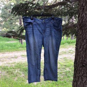 Silver Jeans Capris Size 22